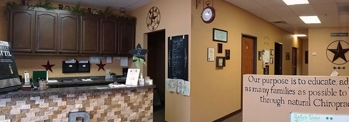 Chiropractic Fort Worth TX front desk